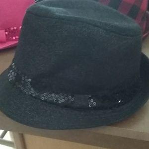 Justice black Fedora hat